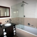 Double vanity, Bathroom, St Francis Golf Lodge