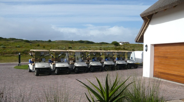 Golf Carts at St Francis Golf Lodge